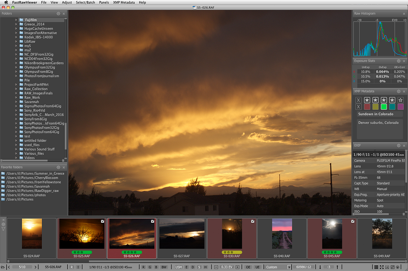 Raw Viewer for Fujifilm for Mac OS X and Windows | FastRawViewer