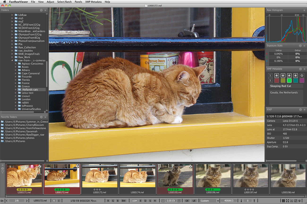 RWL Viewer for Mac OS X and Windows | FastRawViewer