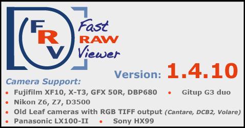 FastRawViewer 1 4 10 Release | FastRawViewer