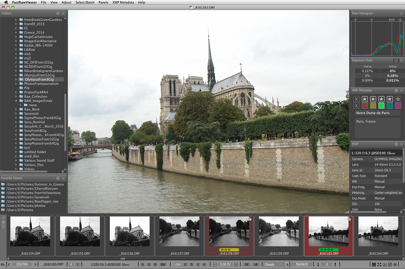 RAW Image Extensions