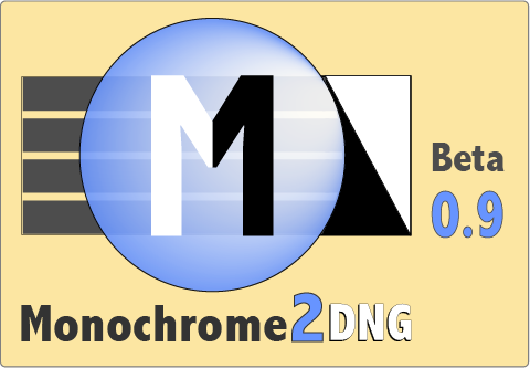 Monochrome2DNG Beta 0.9