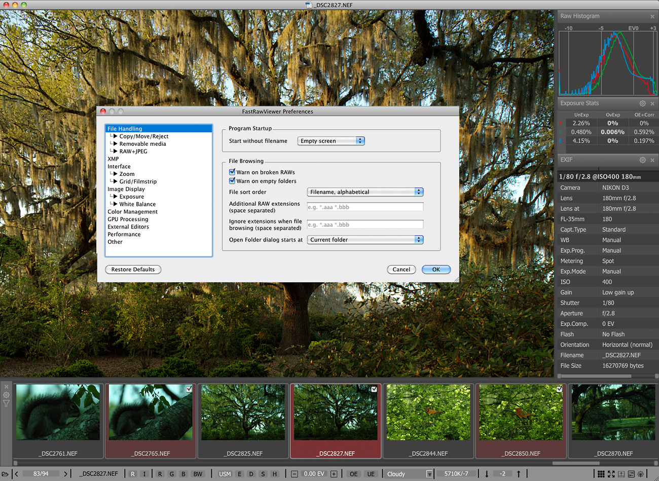 raw file viewer mac