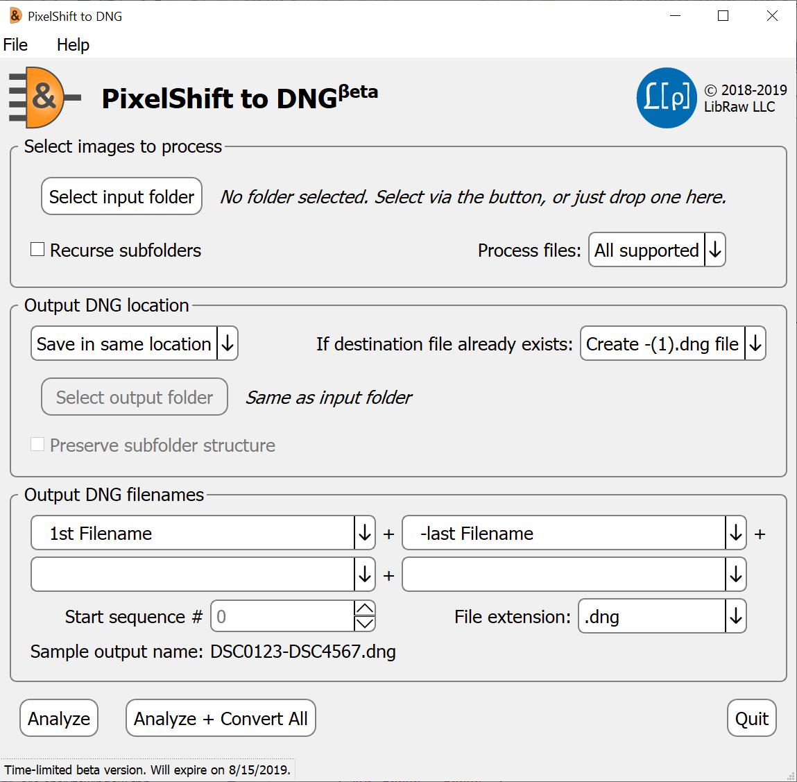 PixelShift2DNG (beta): Convert Pentax K1/K3-II and Sony A7R