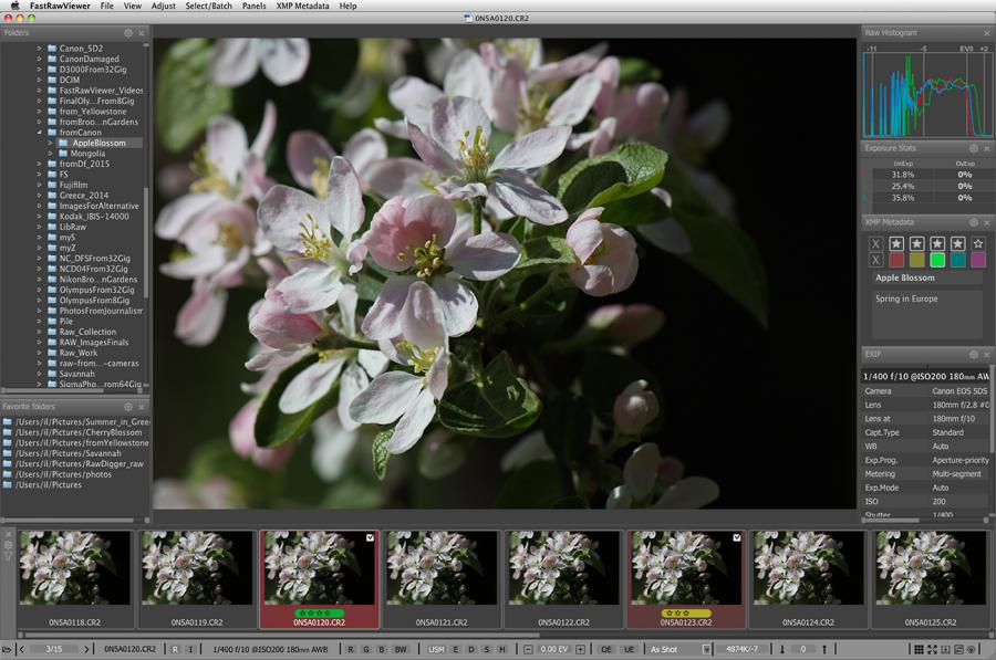 Raw Viewer for Canon for Mac OS X and Windows | FastRawViewer