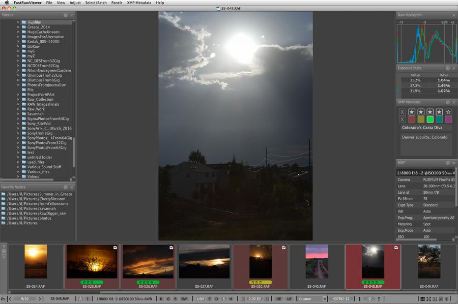 Powerful picture viewer for Mac OS X