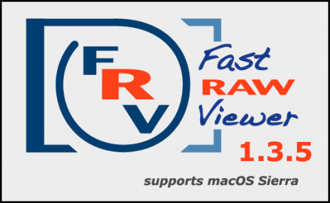FastRawviewer 1.3.5 Beta. Supports macOS Sierra