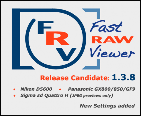 FastRawViewer 1.3.8 Release Candidate
