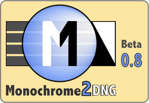 Monochrome2DNG Beta 0.8